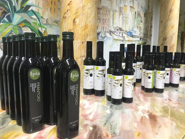 Extraolio präsentiert Olivenöle aus Istrien im Hotel Paradies in Graz - Ipsa, Brist