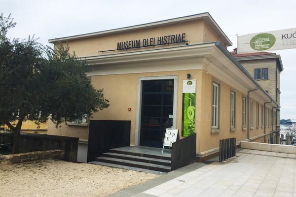 """Das """"Museum Olei Histriae"""" in Pula"""