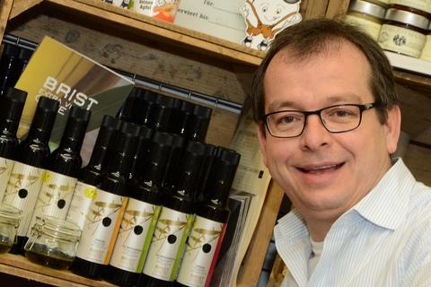 Michael Langhans - Extraolio Olivenöle im Fachl in Graz