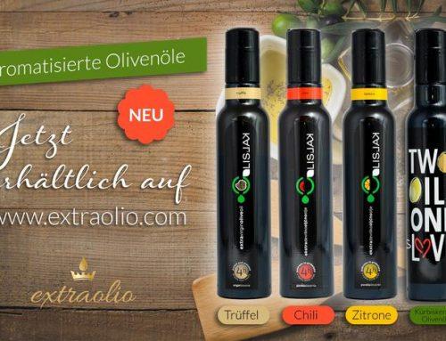 Aromatische Olivenöle aus Istrien